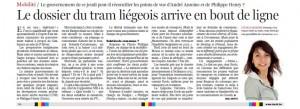 Un article de eric Deffet à lire dans Le soir du 22/12/11