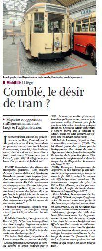Un article à lire dans La Libre du 24/12/11
