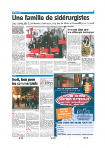 Un article de Luc Gochel à lire dans La Meuse du 11/02/13