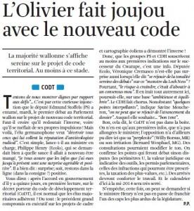 Un article de Paul Piret à lire dans La Libre de ce 02/05/13