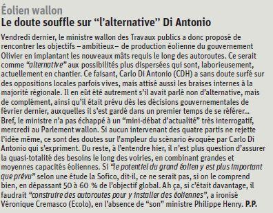 Un article de Paul Piret à lire dans La Libre du 13/06/13