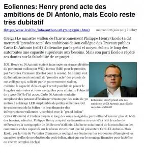 20130627 Eoliennes,  Ecolo reste très dubitatif