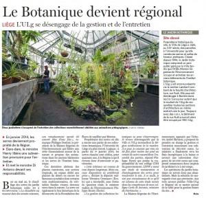 20131009 Serres botanique Vero le soir