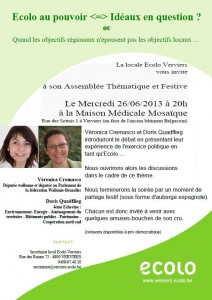 Agenda Vero/locale de Verviers