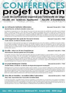 Conférence projet urbain